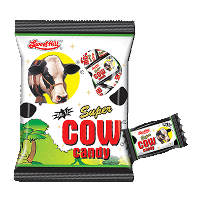 Super Cow Candy Pouch